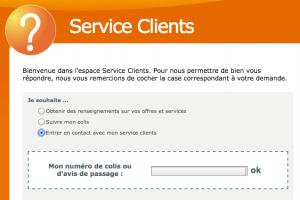 service client la poste