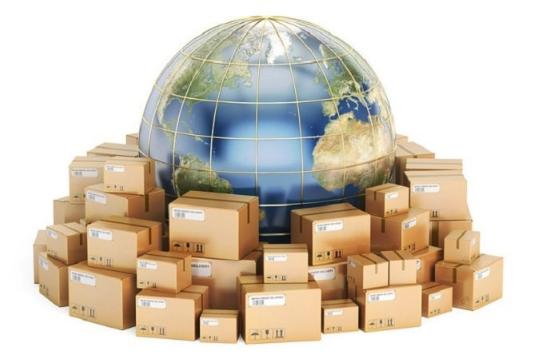 Envoi colis international